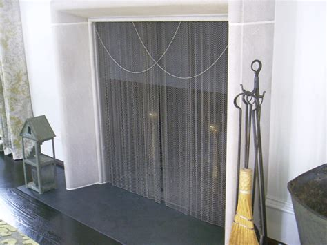 extra tall fireplace screen  custom fireplace quality