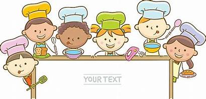 Chef Cooking Kid Child Clipart Vector Clip