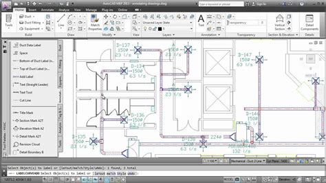 annotating drawings autocad mep  youtube