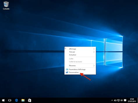 fond d 馗ran bureau comment changer le fond d 39 écran de windows 10