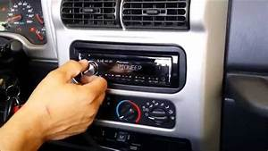 How To  2004 Jeep Wrangler Tj Stereo Install