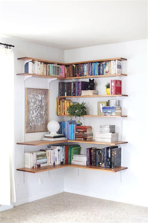 Build & Organize A Corner Shelving System ? A Beautiful Mess