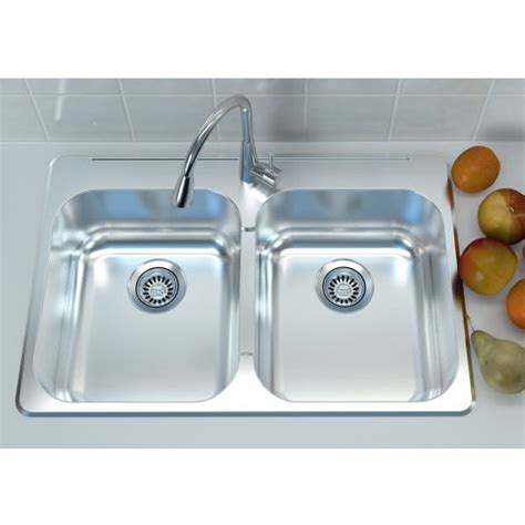overmount stainless steel sink cantrio koncepts stainless steel double bowl overmount