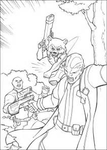 guardians   galaxy coloring pages    print
