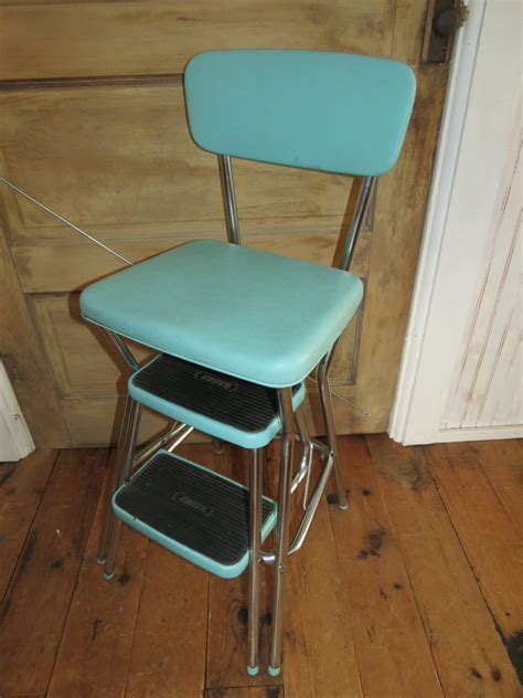 Cosco Step Stool Chair Vintage by Vintage Cosco Step Stool Chair