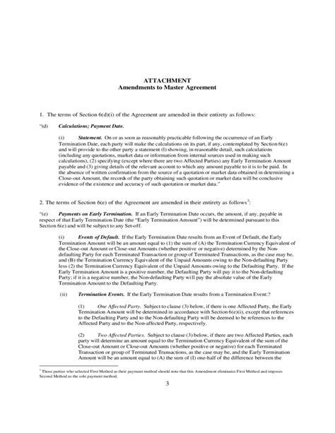 contract of employment amendment letter amending