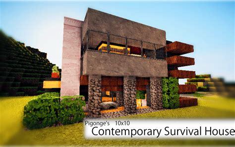 pigonges  survival house  creation