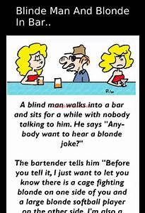 A blind man dec... Funny Jokes