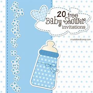 Printable baby shower invitations for Baby shower online invitations