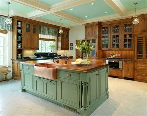 Country Kitchen Island Designs Kitchen  Home Designing