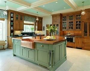 country kitchen island designs kitchen home designing With country kitchen designs with island