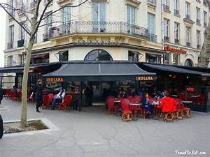 Indiana Café Place de Bastille, Paris - Travel To Eat