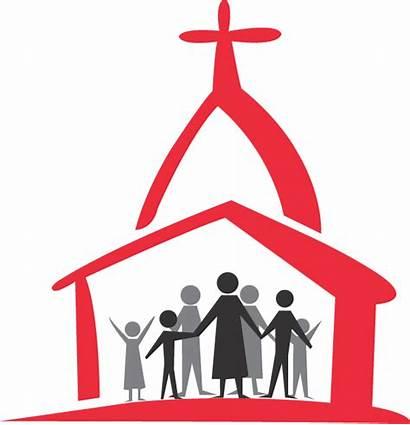 Church Clipart Baptist God Faith Tower Among