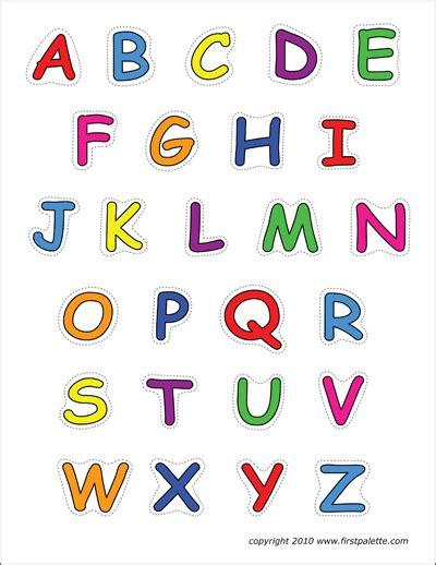 alphabet  case letters  printable templates