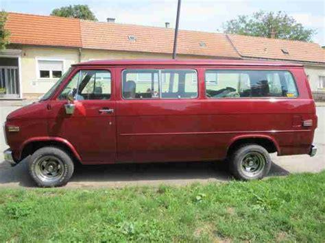chevrolet  beauville sportsvan chevy van  die