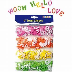 Buchstaben Zum Aufkleben : moosgummi stanzteile buchstaben selbstklebend 400 st ck ~ Watch28wear.com Haus und Dekorationen