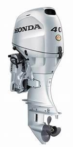Honda Motor Bf40d4lha1  40 Hp  20 Shaft  Tiller  Manual