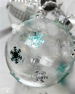 diy ideas to decorate clear ornaments creative juice