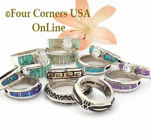 Engagement Wedding Ring Sets Navajo Wedding Rings Four