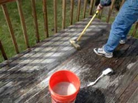 oxygen based deck cleaner pressure washing wood decks ask the builder