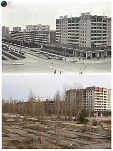 Chernobyl Before and After Pictures | Earthly Mission