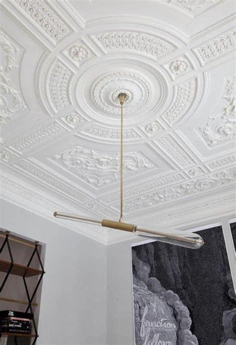 ornamental plaster ceiling   nobility  modern