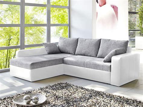 ecksofa vida xcm grau weiss schlafsofa sofa couch