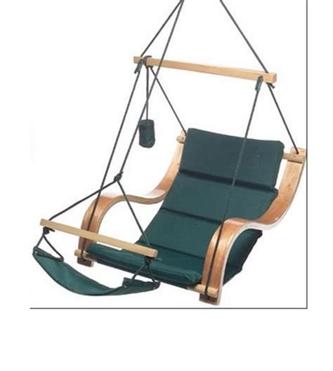 deluxe air hammock hanging patio tree sky swing chair