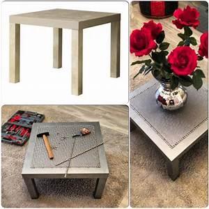 Table Transformable Ikea : customiser une table basse ikea blog d co clem around the corner ~ Teatrodelosmanantiales.com Idées de Décoration
