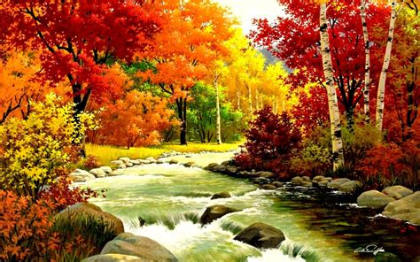 Wallpaper High Resolution Fall Backgrounds by Autumn River Wallpaper High Resolution 93 Wallpaper