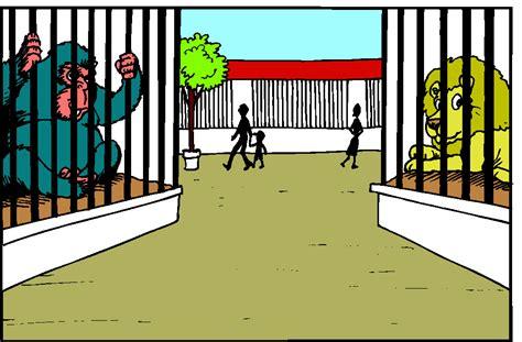 kebun binatang gif gambar animasi animasi bergerak  gratis