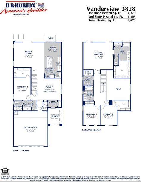 dr horton vanderview floor plan  wwwnmhometeamcom