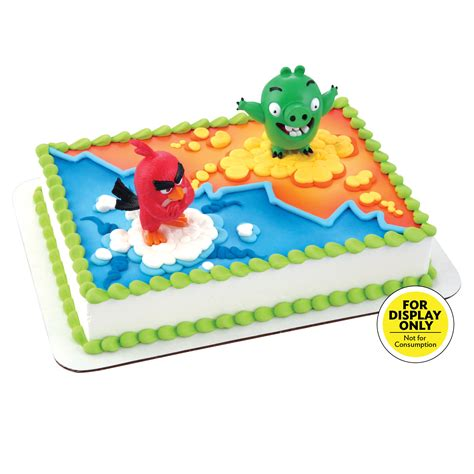 angry birds red bird bad piggy decodisplay cake decopac