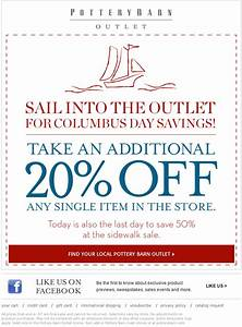 pottery barn printable coupon coupons fantasy With 20 pottery barn coupons