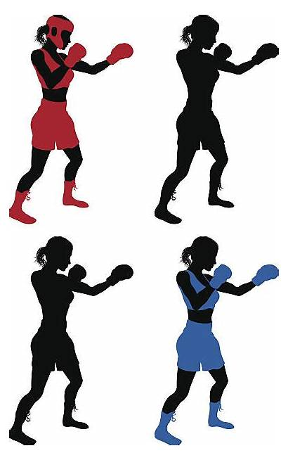 Boxing Female Boxer Clipart Clip Illustrations Donna