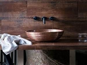 Accessoire Salle De Bain Cuivre : vasque de salle de bain cuivre inyocounty ~ Melissatoandfro.com Idées de Décoration