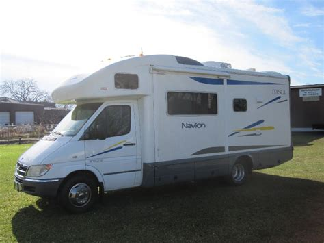 dodge sprinter  drw winnebago rv itasca navion