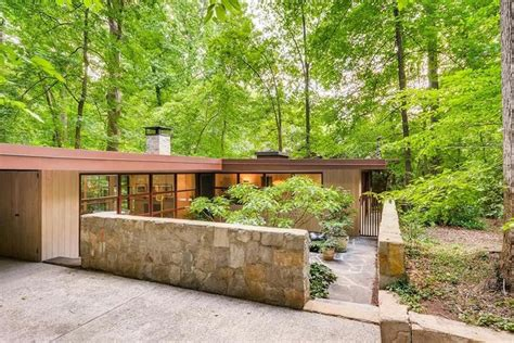 Modern Houses : In Druid Hills, Midcentury Modern Treasure Is