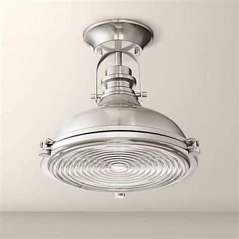 verndale   brushed nickel industrial ceiling light