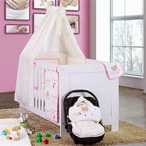 öko Möbel Baby : 5 tlg babybettset cute bear in rosa baby m bel ~ Michelbontemps.com Haus und Dekorationen