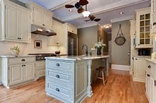 kitchen cabinet island ideas traditional kitchen remodel with white cabinets and island decoist