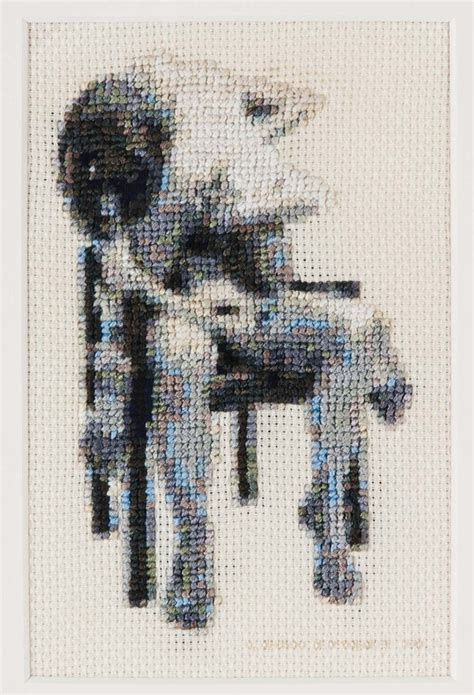 artist discusses sexual health  embroidering hardcore