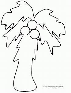 free coloring pages chicka chicka coloring home With printable coconut tree template