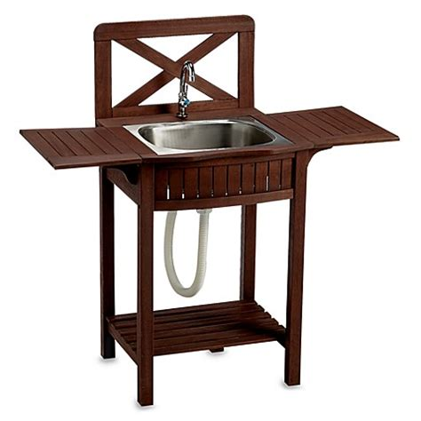wooden sinks for sale outdoor wood station bed bath beyond