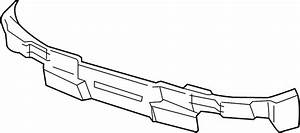 2004 Chevrolet Avalanche 2500 Bumper Assembly  Impact Bar