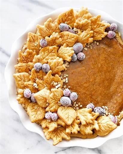Pie Pumpkin Thanksgiving Pies Recipes Crust Leaf