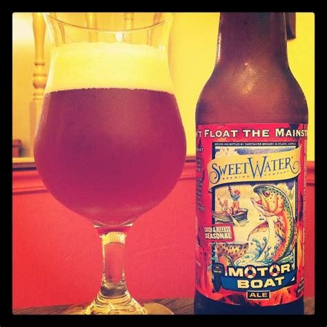 Motorboat Beer by Beer Review 0255 Sweetwater Motor Boat Esb All The Same