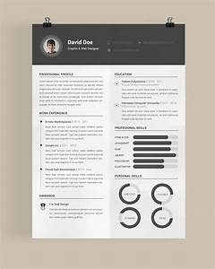 30 free beautiful resume templates to download cv With nice resume templates free