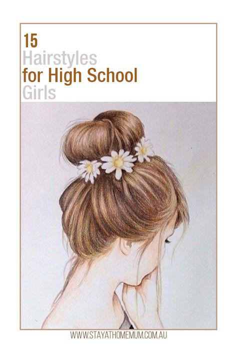 Hairstyles For At School by 15 Hairstyles For High School Stay At Home