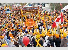 Major road closures in Surrey for Saturday's Vaisakhi